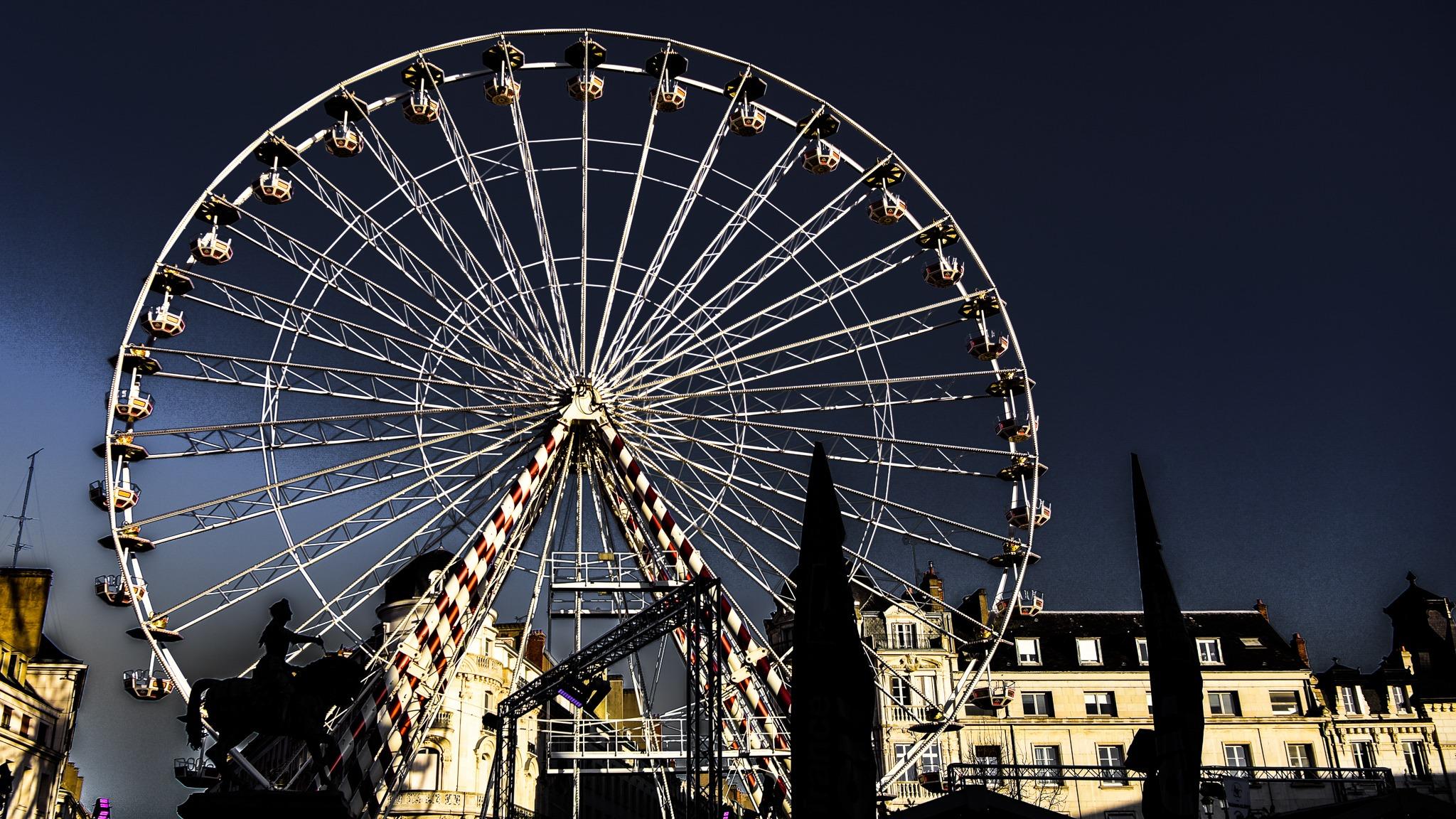 la grande roue d'Orléans
