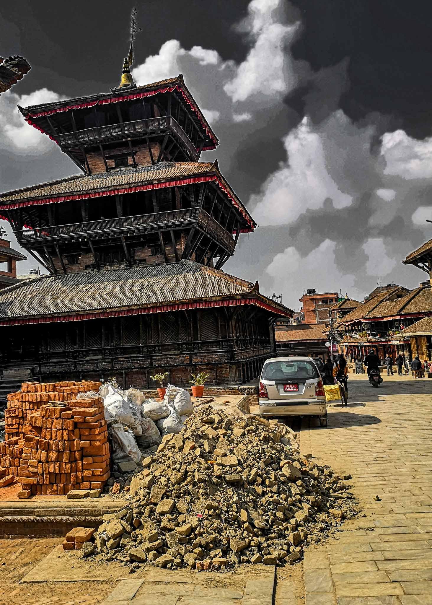 Bhaktapur Népal 2020