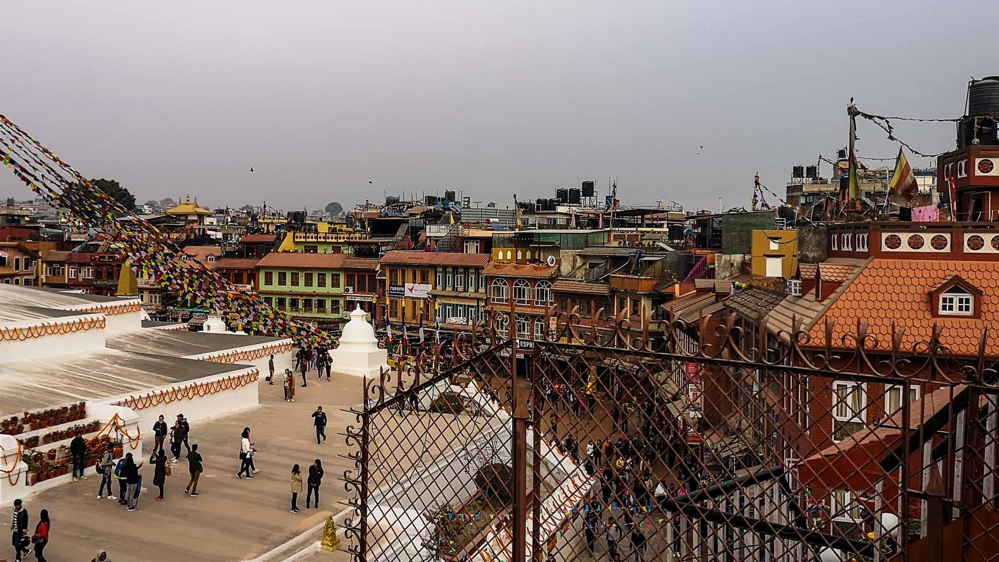 Stupa de Baudha (Népal)