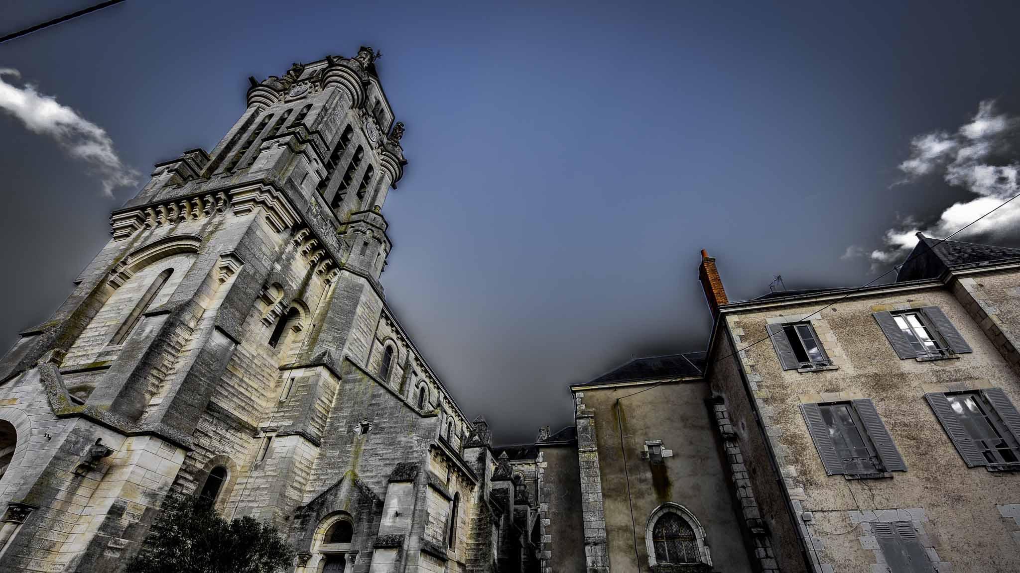 """jour 3 """"Eglise St Marceau 2"""""""