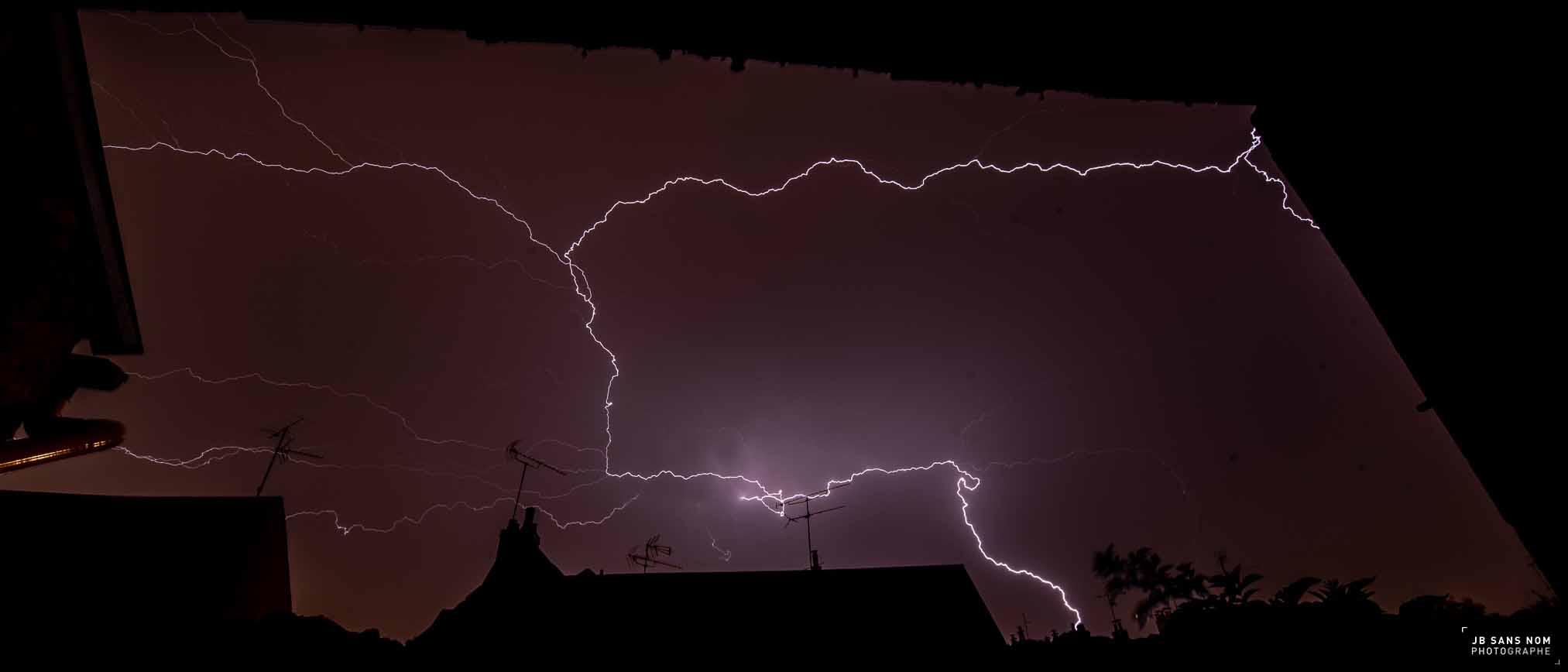 une nuit d'orage sur Orléans